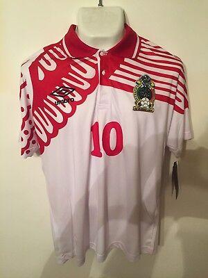 f10d589d7 Jersey Mexico Mundial USA 1994 Luis Garcia UMBRO Oficial