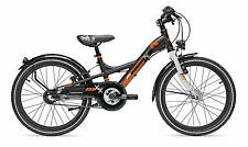 S'cool XXlite comp 20 Zoll 3 Gang Nexus black orange 2017 | ab 6 Jahre | 6025