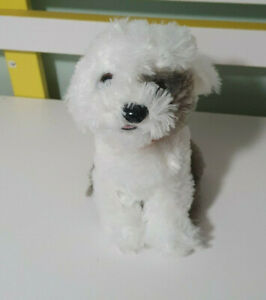 Dulux-Dog-Plush-Toy-Paint-Brand-Mascot-Children-039-s-Soft-Animal-Toy-19cm-MAX