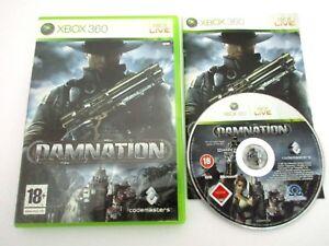DAMNATION-MICROSOFT-XBOX-360-Jeu-Complet-PAL-Fr