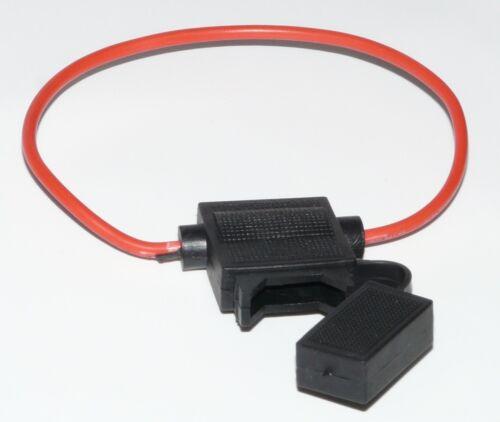 1 KFZ-Sicherungshalter Flachsicherung Halter Sicherung PKW AUTO ohne Sicherung