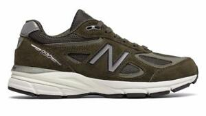 new product 38a87 d56be Details about NEW BALANCE 990 W990MG4 ARMY MILITARY GREEN/OFF  WHITE/GREY/BLACK - SUEDE/MESH