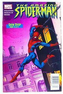 Marvel-AMAZING-SPIDER-MAN-2005-517-Rare-NEWSSTAND-UPC-Variant-FN-VF-7-0