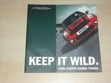 62527) Mini Cooper S JWC Tuning Prospekt 08/2006