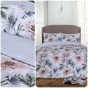 Training-Lily-Floral-Duvet-Cover-Bed-Set-with-Pillowcase-Single-Double-King-Size