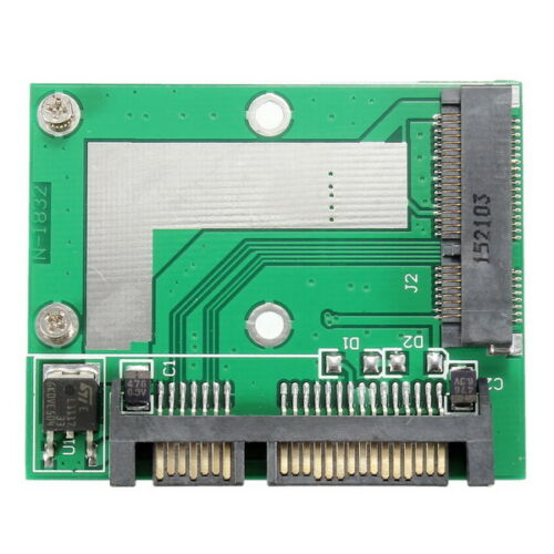 mSATA SSD to SATA Adapter Converter Card Module Board