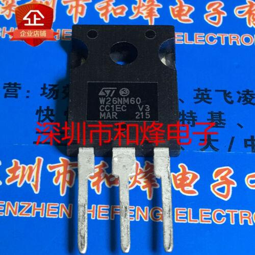 10PCS W26NM60 STW26NM60 TO-247