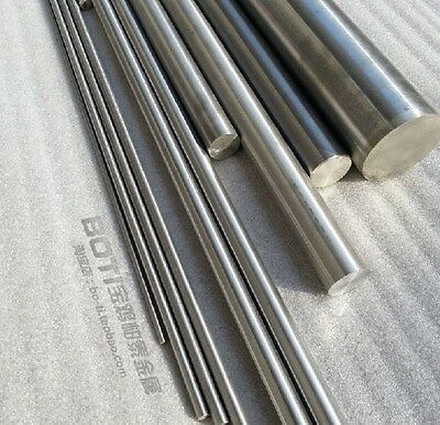2PCS Titanium Ti Grade 5 Gr.5 GR5 Metal Rod Diameter 5mm, Length 25cm 10 inches