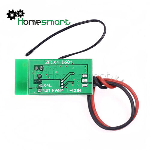 Temperature probe DC12V PWM 4-Wire Fan Temperature Speed Controller AHS