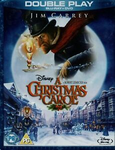 Jim Carrey Christmas Carol.Details About A Christmas Carol Jim Carrey Blu Ray Dvd Set With Slipcover