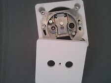 DOUBLE TV FM WALL WHITE PLATE SOCKET CABLE AREAL CATV