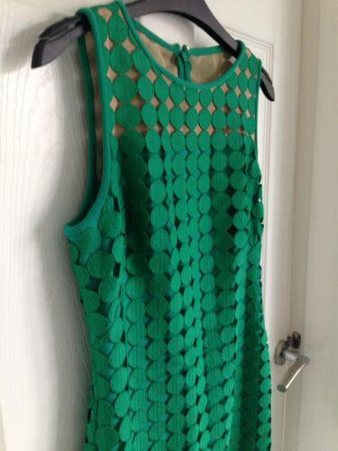Green Femme 8uk Lauren Robe xs Taille 6 Circles 2p Ralph By xvIwqd56w
