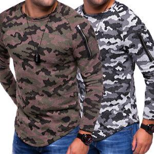 Details zu Herren Oversize Longsleeve Longline Long Pullover Strickjacke Sweatshirt NEU