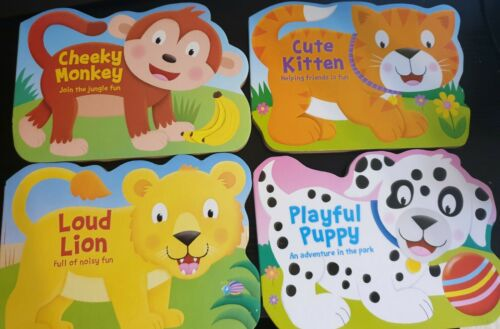 4 modifications Igloo Books-Die-cut Animal Series-Early Lecture Livres