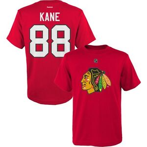 Image is loading Toddler-Kids-Chicago-Blackhawks-Jersey-Style-T-Shirt- e977969947ec8