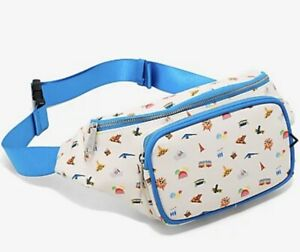 Loungefly Disneyland DCA 65th Anniversary Landmarks Fanny Pack Adjustable NWT
