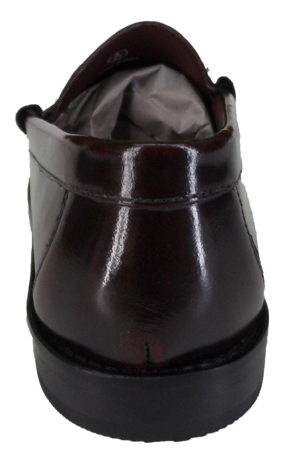 Ikon Original Vollleder Slipper Retro-Modern Ochsenblut Färben über Troddel Slipper Vollleder f53bc7