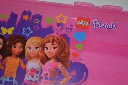 Green 8x16 Base Plates Box 4 LEGO MiniFigure FRIENDS Storage Case PINK Clutch
