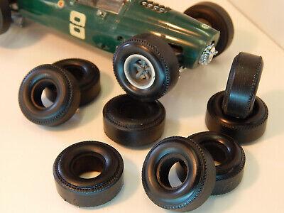 8 pneus arrières  urethane slot car Chapparral  COX 1//24