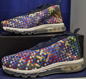 401a356bf33e Nike Air Max Woven Boot SE Multi-Color Footscape SZ 9.5 ( AH8139-400 ...