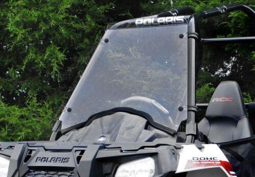 Super ATV 2014+ Polaris Sportsman ACE Scratch Resistant Full Windshield