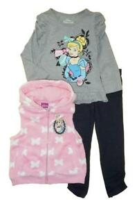 Minnie Mouse Girls Houndstooth Vest 3pc Legging Set Size 12M 18M 24M 2T 3T 4T