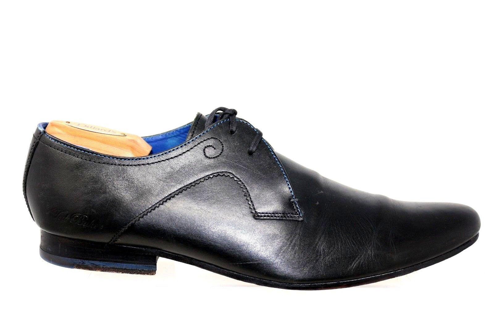Ted Baker Martt 9-12968 Negro Negro Negro Cuero Derby Con Cordones Oxford Zapatos Para Hombre Talla US 11 ac0a7b