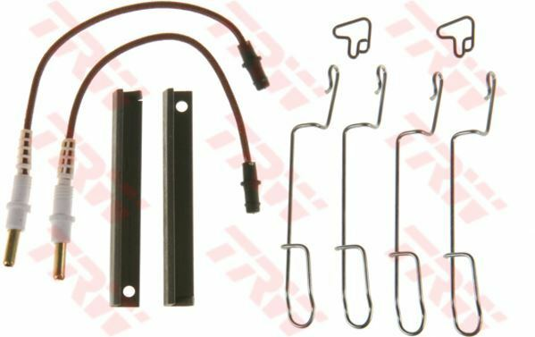 PFK551 TRW Accessory Kit, disc brake pads Rear Axle
