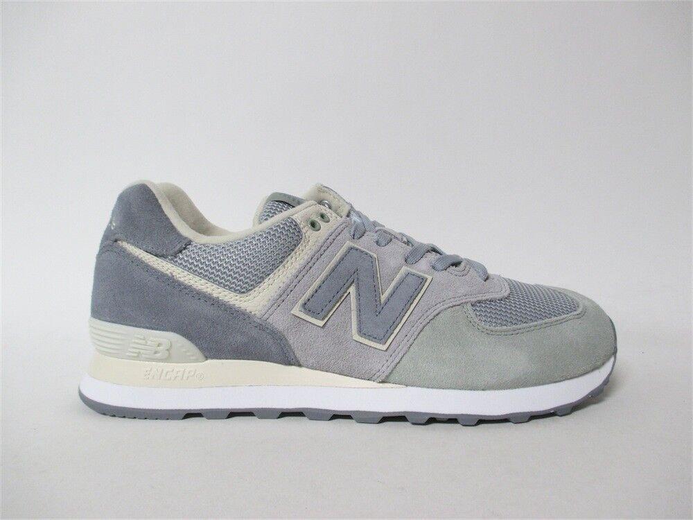 New Balance 574 Grey Cream White Sz 11 ML574TIV