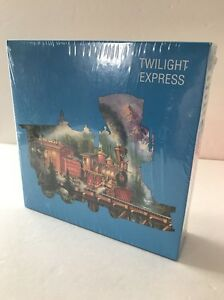 New-Puzzle-Makers-TWILIGHT-EXPRESS-800-Piece-Puzzle