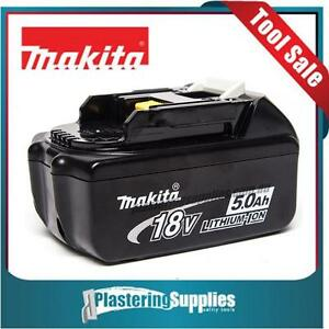 Makita BL1850B  5 Amp  Battery  Genuine  18Volt  LXT with LED Indicator