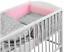 LUXURY-BABY-SOFT-DIMPLE-BEDDING-SET-3-5-6-PCS-BUMPER-PILLOW-DUVET-FIT-COT-120x60 thumbnail 9