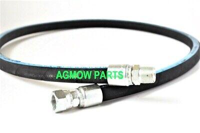 "1/2"" X 36"" (3ft) Hydraulic Hose Assembly 2-wire 1/2"" Mnpt X Female Jic"