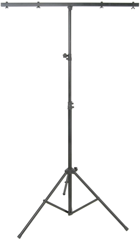QTX LT01 Lighting Stand Tripod T-Bar for Light Effects DJ Disco 2.5M Height 30Kg