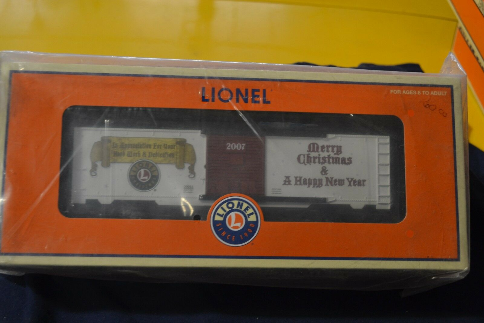 Lionel 6-29954 2007 Dealer's Christmas Boxcar - NEW