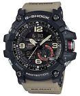 Casio G-Shock Mudmaster Analog & Digital Men's Watch - Black/Beige