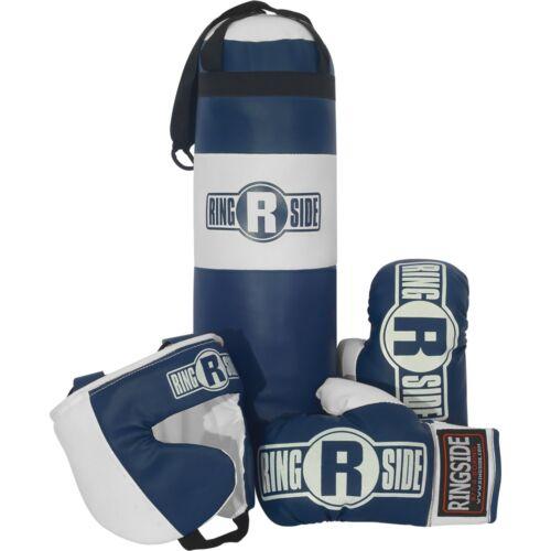 Ringside Kids Boxing Kit Training Bag Set Punching Bag Gloves Heavy Bag