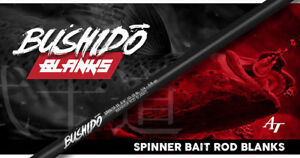 Bushido-Spinner-Bait-Series-Rod-Blanks-by-American-Tackle-Carbon-Fibre