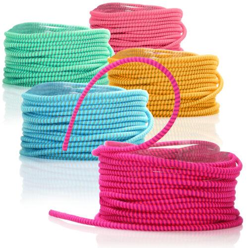 5x Gummitwist Band für Kinder Hüpfgummi bunt Springseil aus Gummi