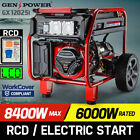 Genpower Gx12025i Portable Single-Phase Petrol Generator, 8.4kW