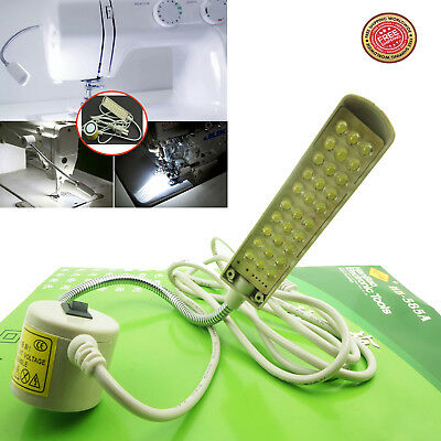 30 LED SINGER SEWING MACHINE LIGHT UNIT /& ON OFF SWITCH /& MAGNETIC SUPPORT BASE