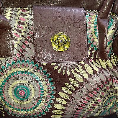 Nicole Lee  Brown Susan Bohemian Boston Bag