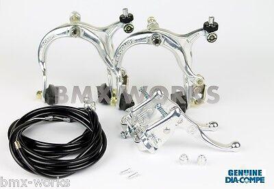 Dia-Compe MX883 MX121 Gold /& Black Brake Set Old School BMX Style Brakes
