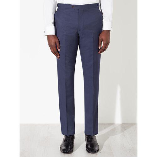John Lewis bluee Woven In  Trousers BNWT  Striped Trousers SIZE 40R RRP