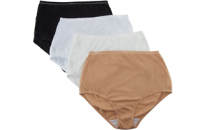 9efac11b2fa2 Breezies Set of 4 Cotton Brief Panties with UltimAir Lining-SIZE 8 ...