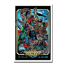 "2 Movie Silk Fabric Poster 11/""x17/"" 24/""x36/"" 2017 Guardians of the Galaxy Vol"