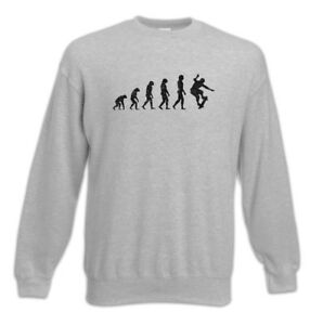 Sweatshirt Pullover Or Evolution Die Skater Fun Training Skate Skateboard fvSpw1qac