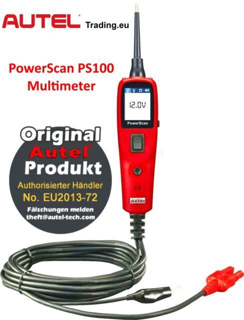 AUTEL PS100 PowerScan KFZ Tester & Messgerät Elektrik Stromkreistester 6V-30V !
