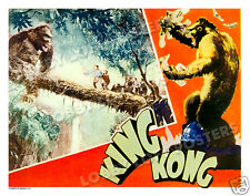 KING KONG LOBBY SCENE CARD # 7 POSTER 1933 FAY WRAY ROBERT ARMSTRONG BRUCE CABOT