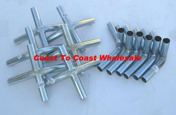 """18x30 Canopy Shade Tent Car Boat High Peak Fittings connectors Only 1-3//8/"""" sys"""